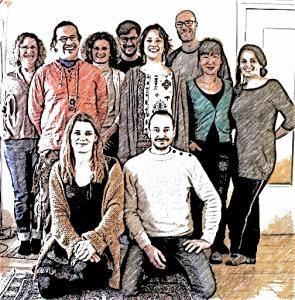 Equipe de l'Ecole de massageasseurs et masseuses bien-être