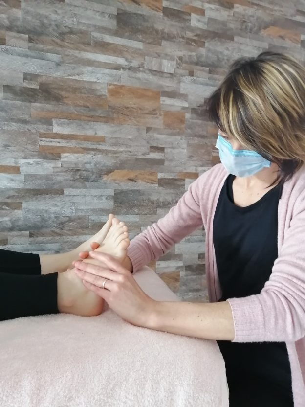 Massage masqué